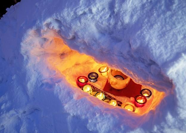 雪明かりの路 ****