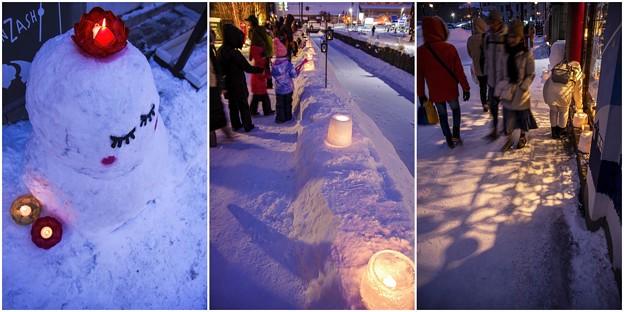 雪明かりの路 *****