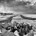 Photos: 「 流氷が来た日 monochrome 」