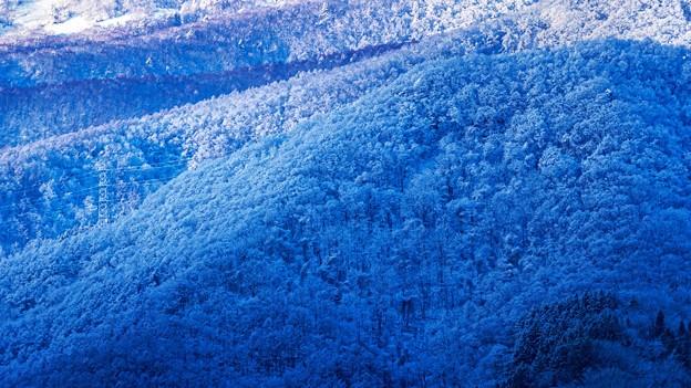 鉄塔のある風景 -初冬-