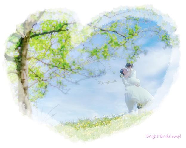Bright Bridal coupl