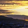 Photos: 明日は雨予報/鉄塔のある風景・初夏