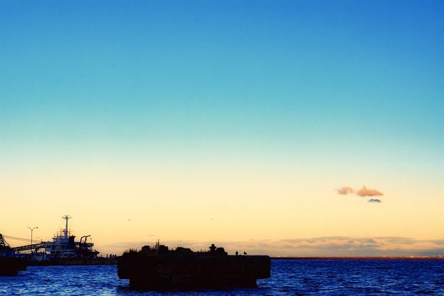 浮浪雲 golden-hour