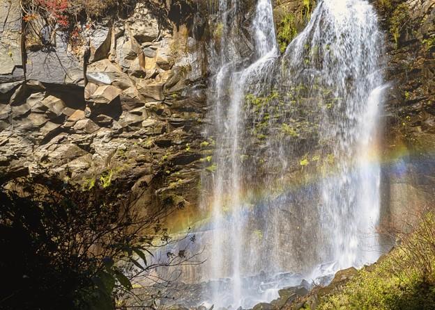 アシリベツの滝/雰虹