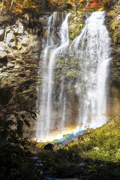 アシリベツの滝/霧虹