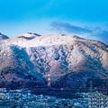 鉄塔のある風景/2016年初冬