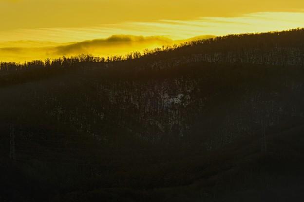 Photos: frozen ridge