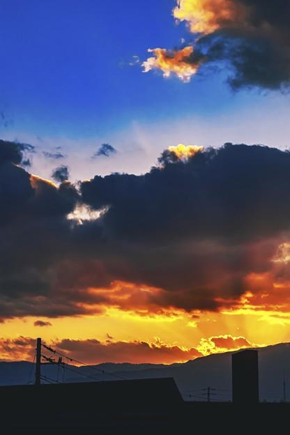 cloud burns