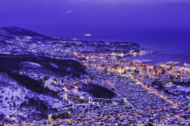 雪あかりの街 小樽