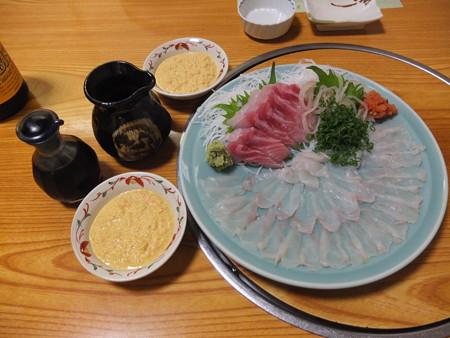 割烹かこう(嘉肴) トラフグと真鯛