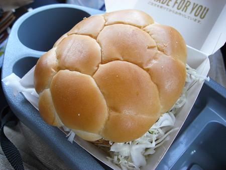 マクドナルド 上越店 ジャパンバーガー ビーフメンチ(期間限定) ¥399