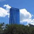 写真: 六本木ヒルズと白い雲