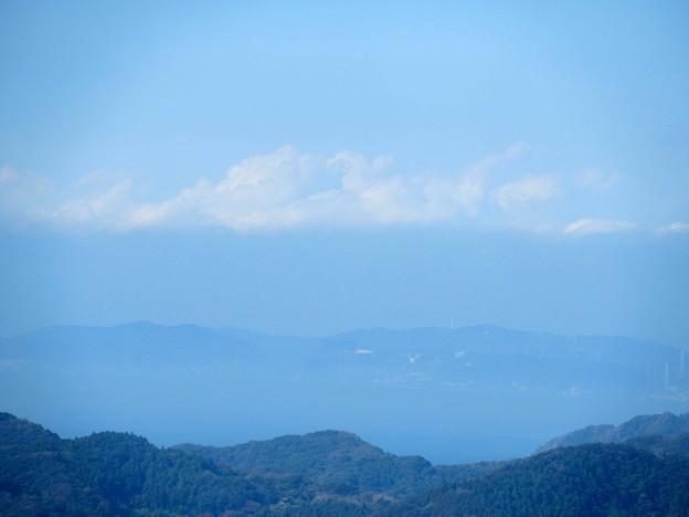 富士山が見えたのだが