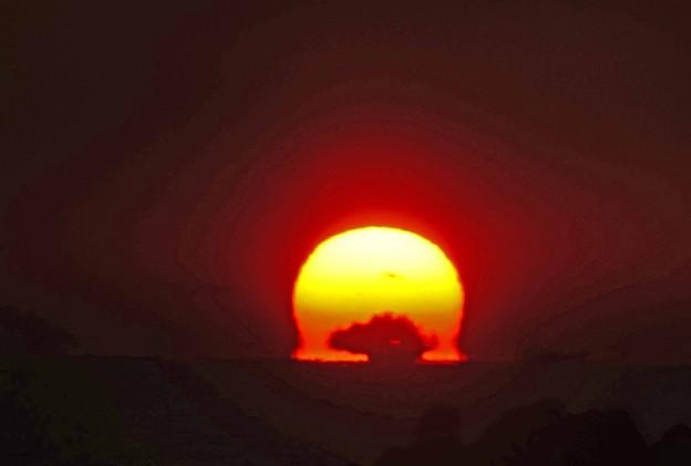 日の出光景