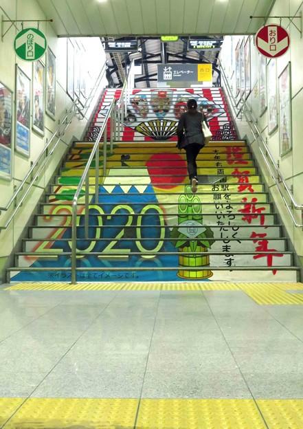 階段画-2