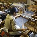 Photos: 結城紬織り