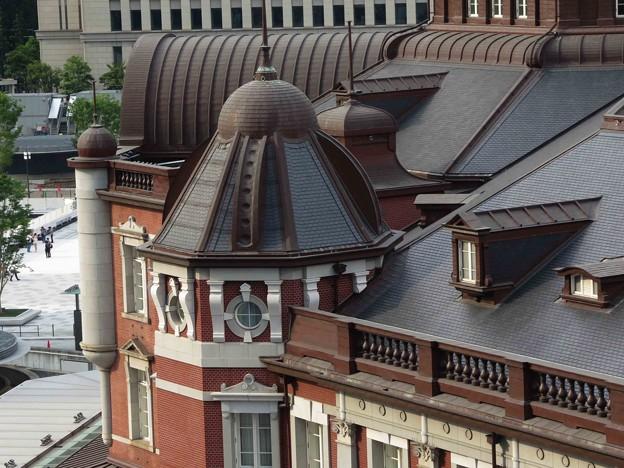 東京駅舎屋根
