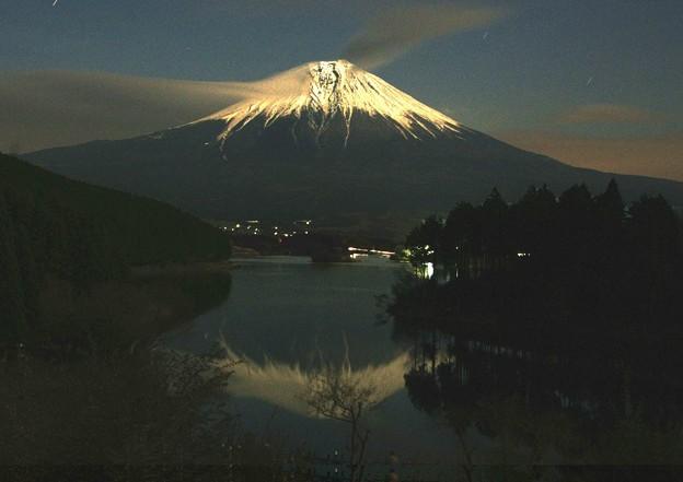 15夜の富士