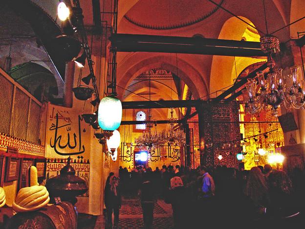 モスクの内部