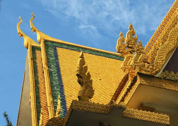 寺院の屋根