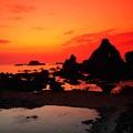 Photos: 夕焼けの日本海