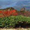 Photos: 桧原湖を見下ろす