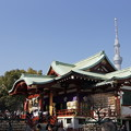 Photos: 亀戸天神とスカイツリー