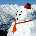 Photos: 大きな雪だるま