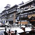 Photos: 雪の銀山温泉