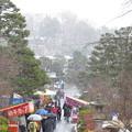 Photos: 初詣は雪_1