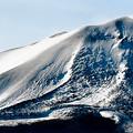 写真: 冬の浅間山