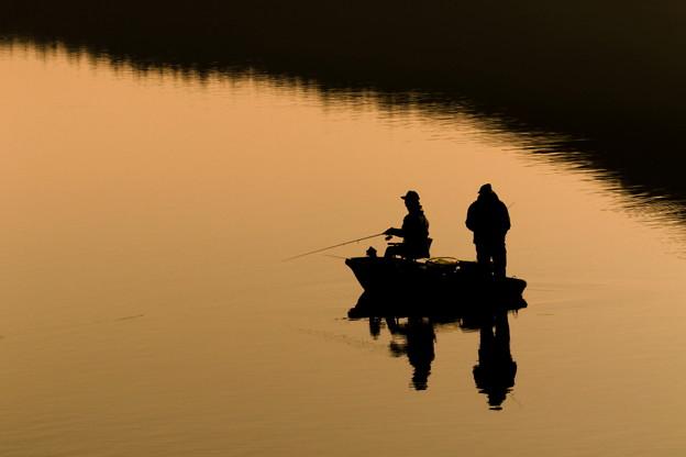 Photos: 朝釣り
