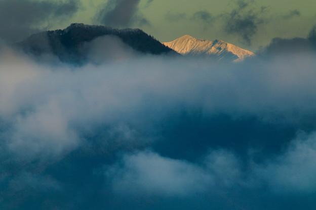Photos: 朝の雪山