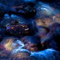 晩秋の渓流