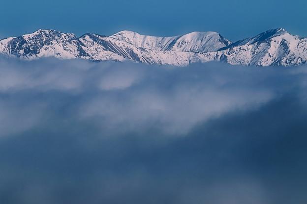 12月の雪山
