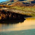 Photos: 色づく湖