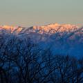 Photos: 染まる山々