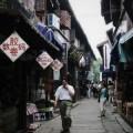 写真: 朱家角の路地