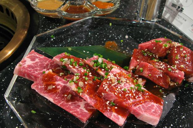 写真: 吉蔵の焼き肉