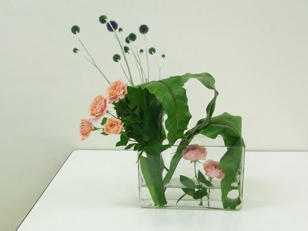 透明な花器