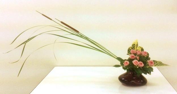 Photos: ガラス花器を使う