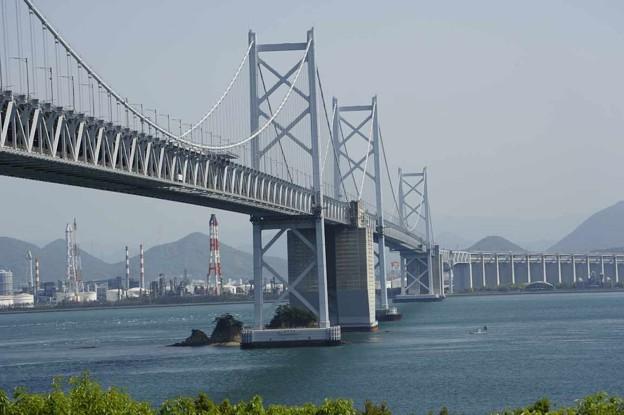 Photos: 「旅愁」複音ハーモニカで 瀬戸大橋 与島 絵夢島/PIXTA
