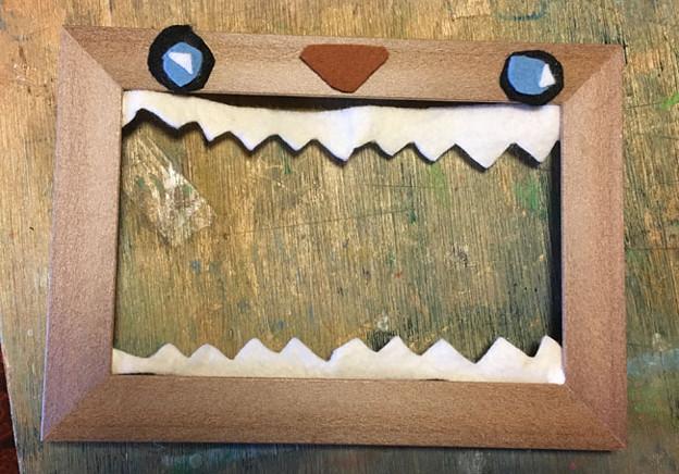 木枠のデザイン