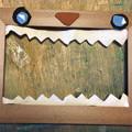 写真: 木枠のデザイン