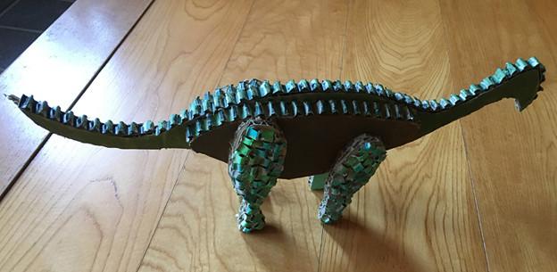 恐竜を作ろう
