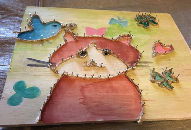 Photos: なわと木の造形