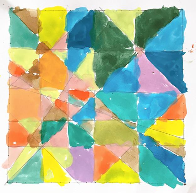 幾何学模様を描こう