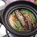 Photos: 岩魚釜飯