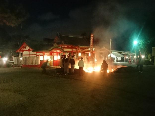 Photos: 火の番