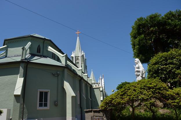 写真: 平戸の教会。